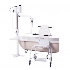 Mermaid Electric Bath Hoist - Side Fit with Ranger Seat