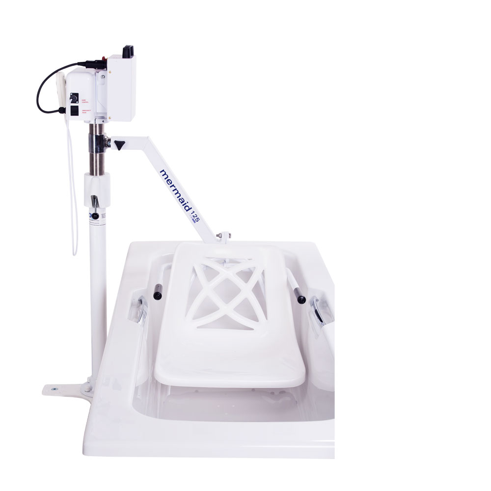 Mermaid Electric Bath Hoist - Side Fit with Standard Seat