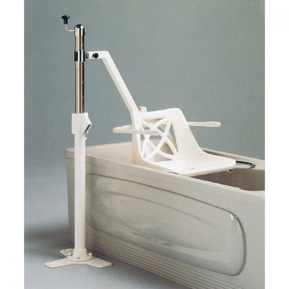 Mermaid Manual Bath Hoist - Side Fit with Ranger Seat