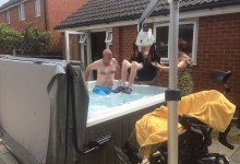 Hot Tub with disabled access
