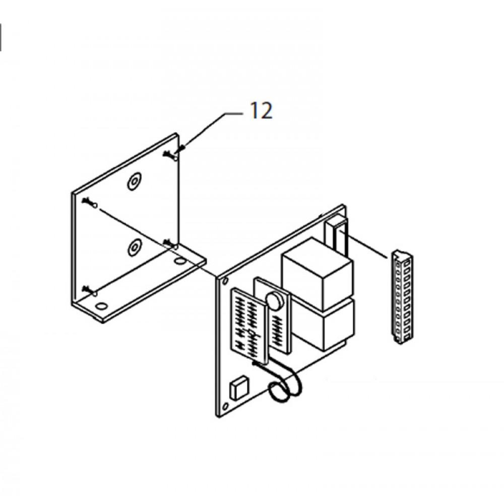 12 - PCB Mounting Pillar