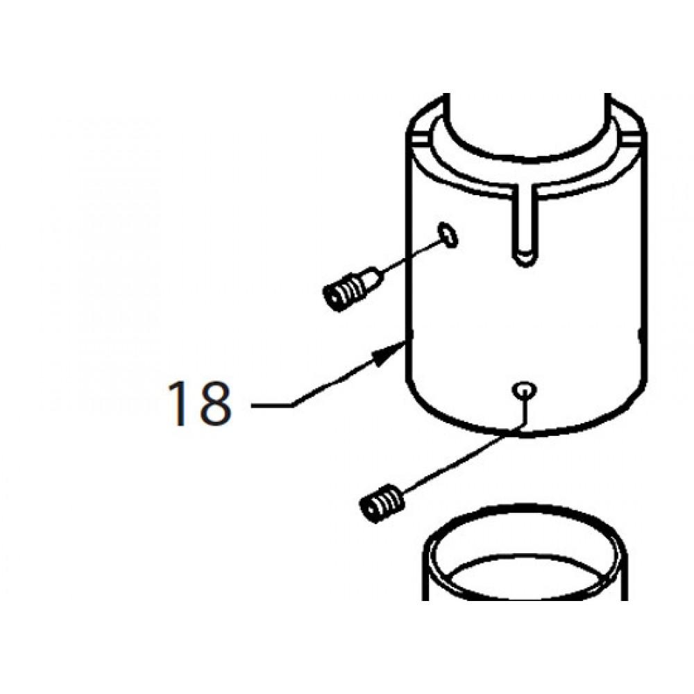 18 - Column collar (4 position)