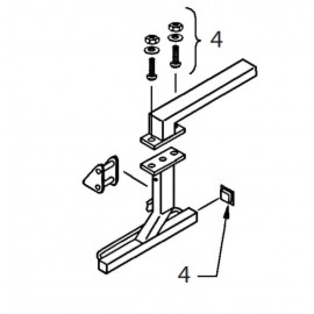 04 - Ranger Arms Fixings & Fittings Kit (pack of 10)