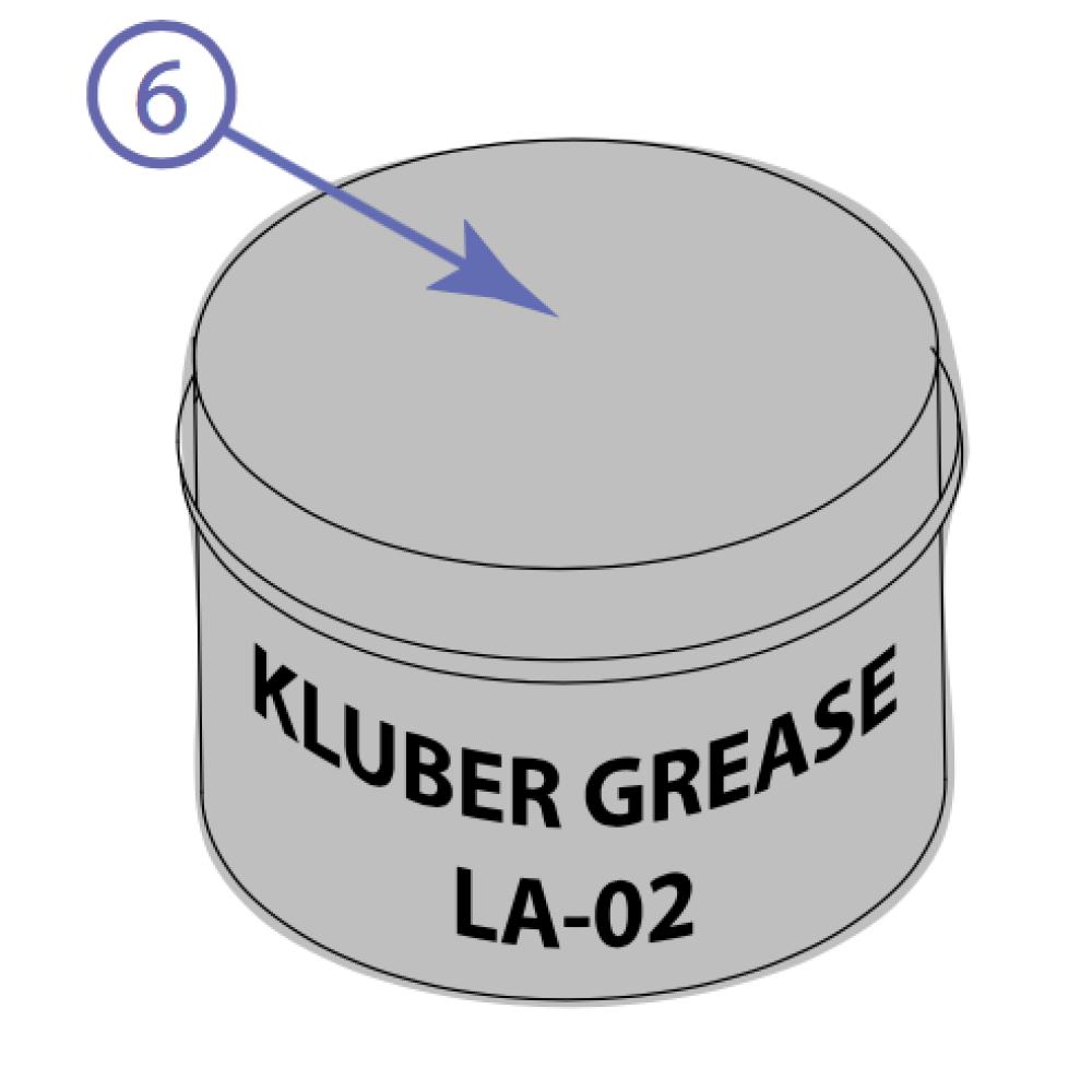 6 - Kluber Grease La-02 0.4 Kg